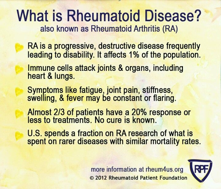 What is RA? Its NOT YOUR Grandma's ARTHRITIS!