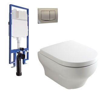 Plumbline Lavage Olympia Wall Hung Package -Chesters $858.99 PACKAGE