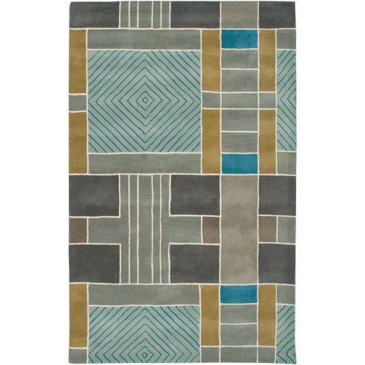 Rizzy Rugs Volare Light Blue Area Rug | AllModern