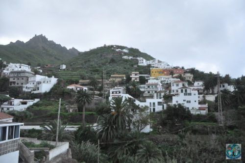 The sunny island of Tenerife, part of Spain, has a very beautiful area in its north-eastern corner, called Anaga Mountains where tourists can enjoy magnificent views