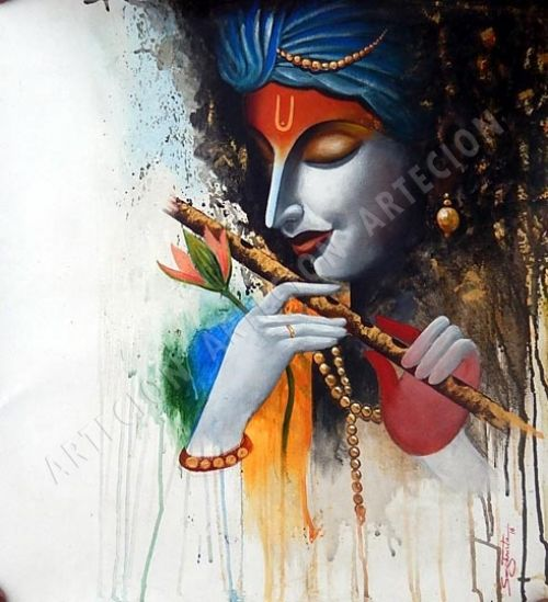 25 best ideas about krishna painting on pinterest radha for Best way to sell paintings online