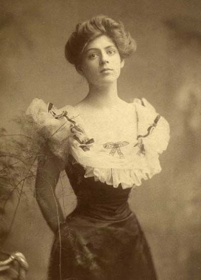 Ethel Barrymore was a stunningly beautiful woman.