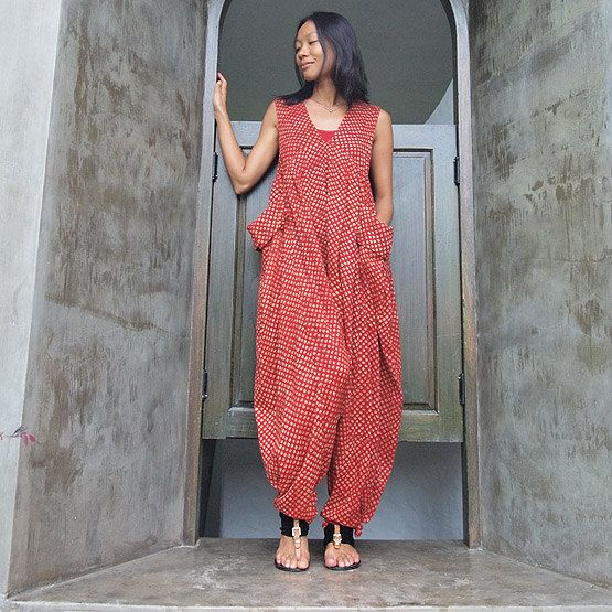 Epiphany jumpsuit from cocoricooo on Etsy; part of the Colorful India collection