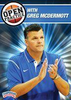 Open Practice with Greg McDermott - Coach's Clipboard #Basketball DVD Store