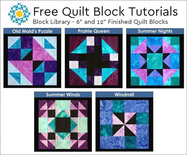 Download 5 Free Quilt Block Tutorials | Aiming for Accuracy Pattern Co.