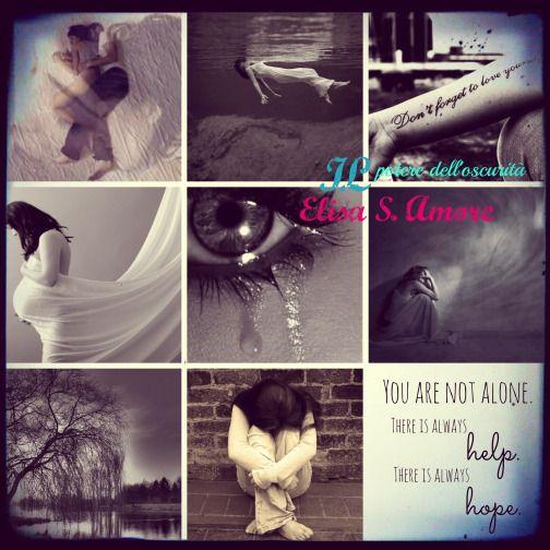 Il potere dell'oscurità di Elisa S. Amore (collage)
