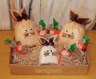 I coniglietti pasquali  #conigli #Pasqua #regalo #rabbit