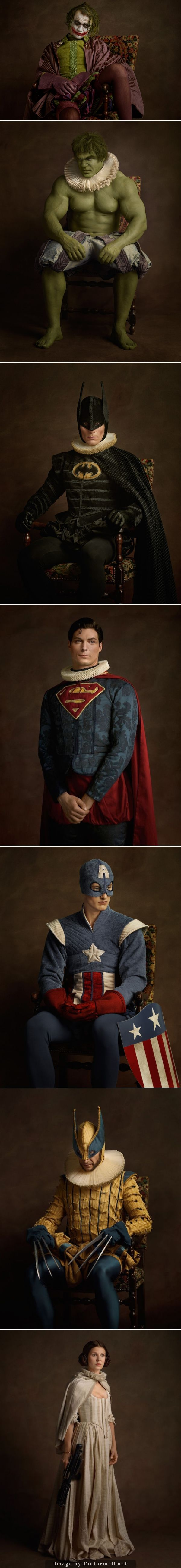 Superdupont is a superhero based entirely on french stereotypes - The Attention To Detail On These Are Incredible Photographer Sacha Goldberger