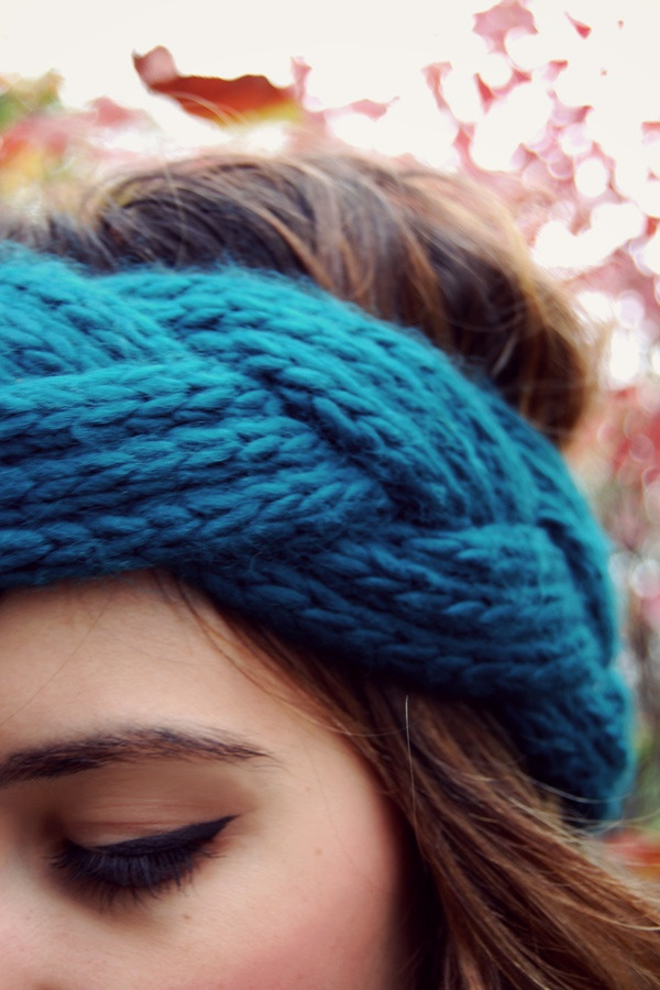 I think I could make this headband