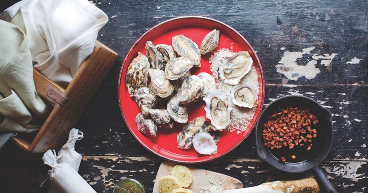 Grill something different for your next backyard barbecue party. These oysters from The Preservatory cookbook, by Lee Murphy of Vista D'oro Farms & Winery, are easy to make, full of flavour, and elegant. Murphy recommends pairing the oysters with a Kir Royale.