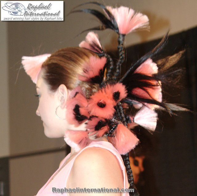 Fantasy hair styles | ... present the Fantasy & Runway hair styles for the 21st Century look