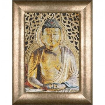 Borduurpakket Buddha - Thea Gouverneur