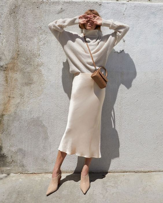 Autumn Style: Silk and Slips & October Whites