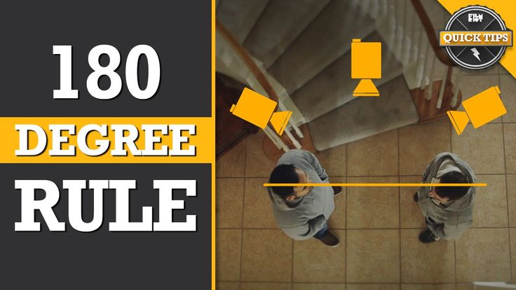 Quick Tips: Understanding The 180 Degree Rule!