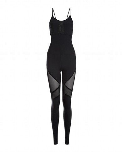 http://flybery.com/brands/sweaty-betty-81 Makarasana Barre Unitard #allblackoutfit #unitardoutfit