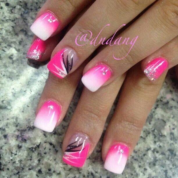 Hot Nail Designs: Best 25+ Hot Pink Pedicure Ideas On Pinterest