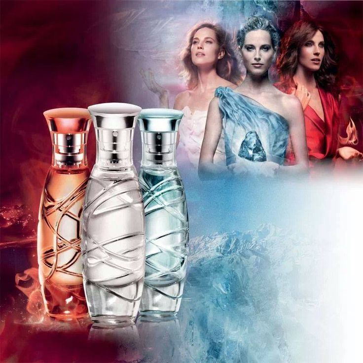 Fire, air, and ice parfume @ oriflame