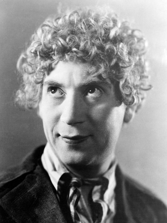 Harpo Marx, Nov.23,1888 - Sep.28,1964. After Undergoing Open Heart Surgery Following A Heart Attack