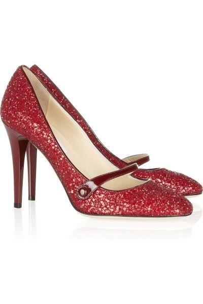 Zapatos para Bodas estilo salón con glitter de Jimmy Choo