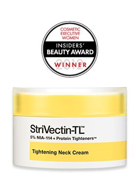 #1 Selling Neck Cream in America*  *According to The NPD Group, StriVectin TL Tightening Neck Cream is the top-selling neck cream within Prestige beauty since its launch in August 2011 through March 2012.
