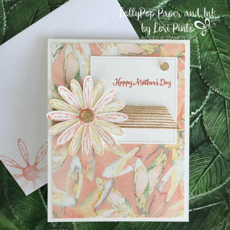 Stampin' Up!, Daisy Delight stamp set bundle, Delightful Daisy DSP, Mother's Day
