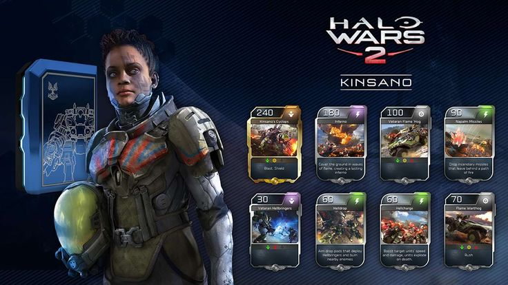 Pun intended. The first batch of DLC content for Halo Wars 2 has released. The new leader Kinsano brings along some scorching new units and abilities and is available to download for all season pass owners or can be brought separately from the Xbox Store. Having jumped online to test her out below is an overview of her units and abilities as well as some early strategies to adopt.