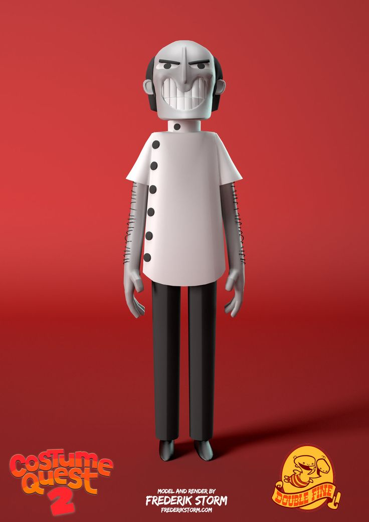 Dentist - Costume Quest 2, Frederik Storm on ArtStation at…