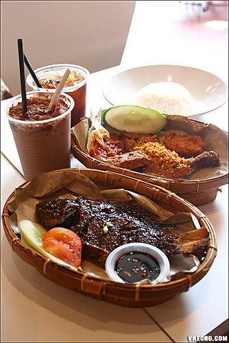 Waroeng Penyet Tradisional Indonesian Food @ The Curve, Mutiara Damansara