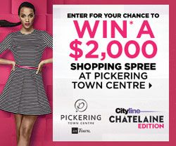 Chatelaine Edition of Cityline: Pickering Town Centre Contest
