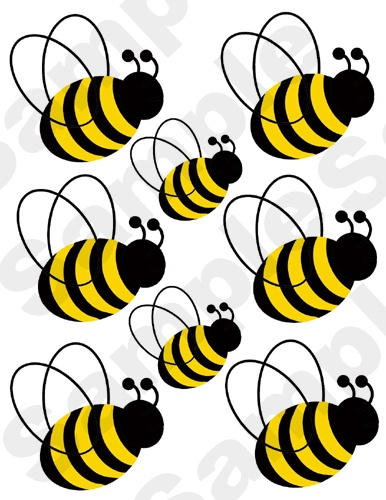 1000 images about bee room on pinterest bumble bee for Bumble bee mural