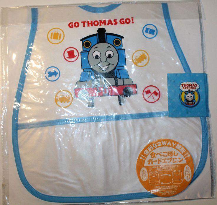 Thomas & Friends Childs Plastic Bib fr Japan Transparent with Pocket 28cmx44.5cm #Gullane