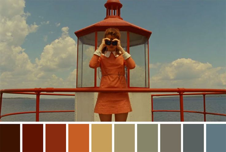 21 Famous Movies Scenes Brilliantly Turned Into Colour Palettes - UltraLinx