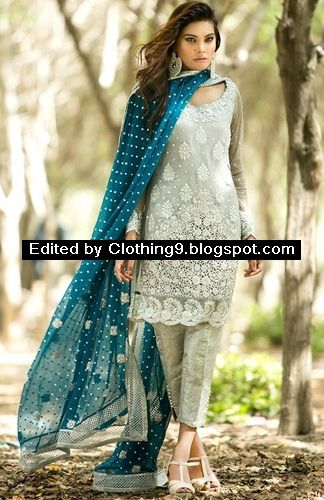 Zainab Chottani Pret Eid Dress 2015 Fashion Trend for Women ~ Clothing9 | Latest Clothes Fashion Online Dress Designers