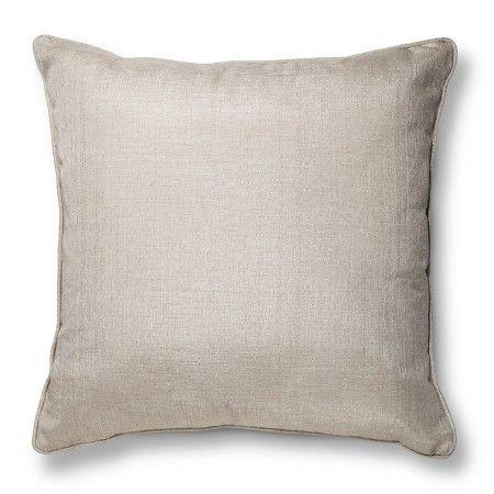 "Gold Oversized Metallic Throw Pillow (24""X24"") - Threshold™ : Target"