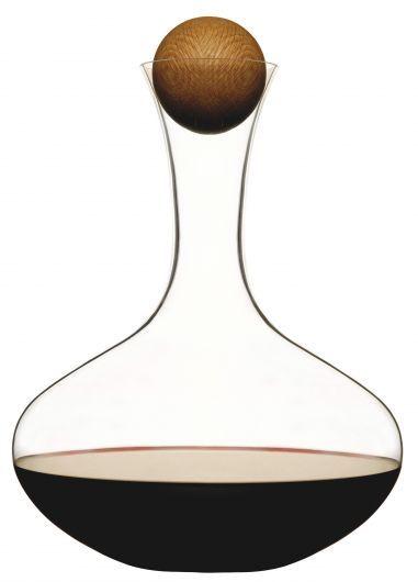 Sagaform+Wine+Carafe+with+Oak+Stopper,+2+Litre