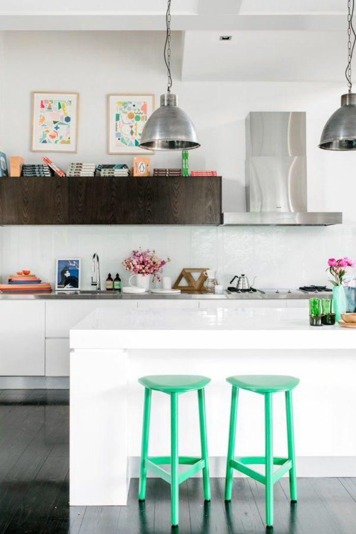 23 best Cuisine images on Pinterest Kitchen ideas, Kitchen designs - hotte integree dans meuble haut