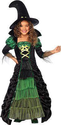 Morris Costumes Storybook Witch Child Medium. UAC49089MD