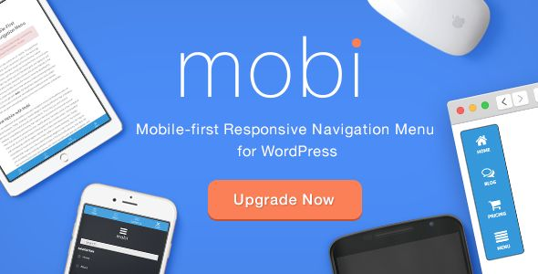 mobi v3.0  Mobile First Responsive Navigation Menu  Blogger Template