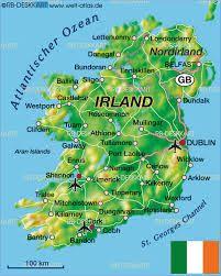 mapa de irlanda - Buscar con Google