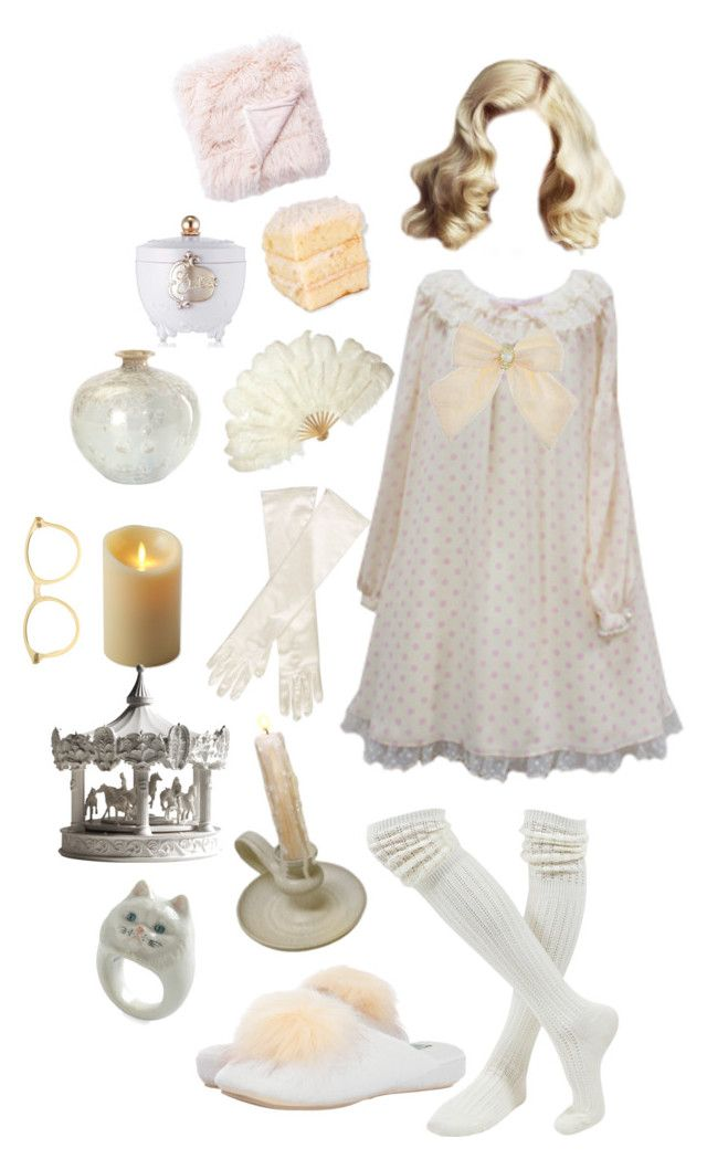 """Sweet Dreamer 💤"" by princesspeachbutt ❤ liked on Polyvore featuring Jaipur, Luminara, Retrò, John Lewis, American Apparel, Haoshi Design and Patricia Green"