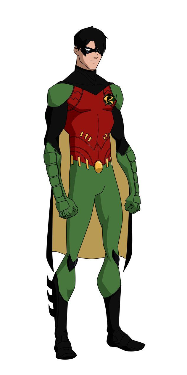 Robin New 52, Dick Grayson by Bobkitty23 on DeviantArt