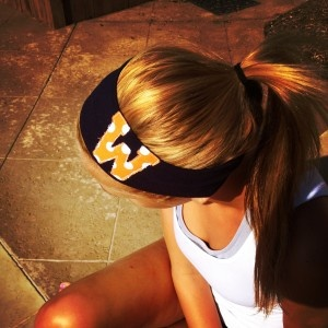 game day headbands...so cute!