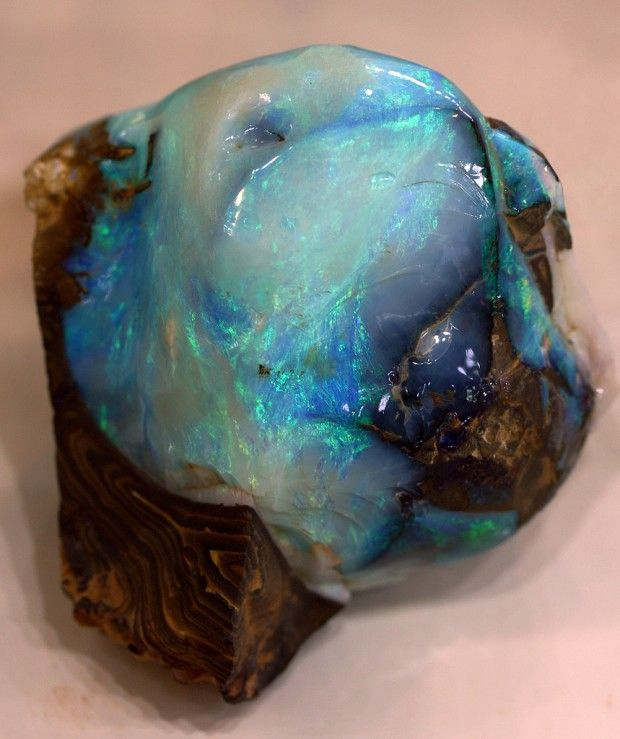 Mavi Opal::Blue Opal
