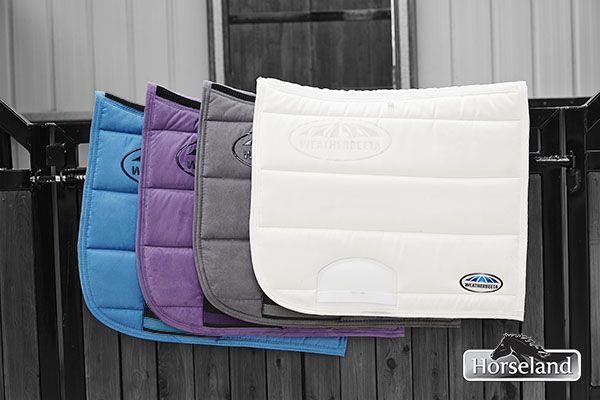 WeatherBeeta has gorgeous hues in their saddlepads range this season!