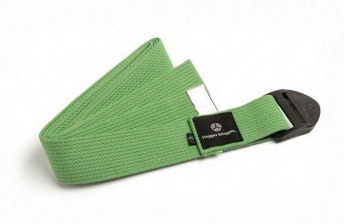 Hugger Mugger Cotton Cinch Yoga Strap - 10' - Light Green