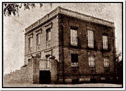 Cuatro Caminos- Tetuán. Casa de Santiago Ramón y Cajal en la calle Almansa. 1900