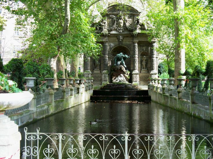 7 best travel dreams images on pinterest beautiful - Jardin du luxembourg hours ...