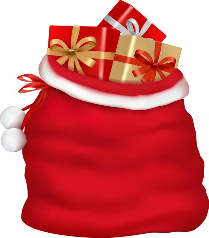 Christmas gift bag clip art pixshark images