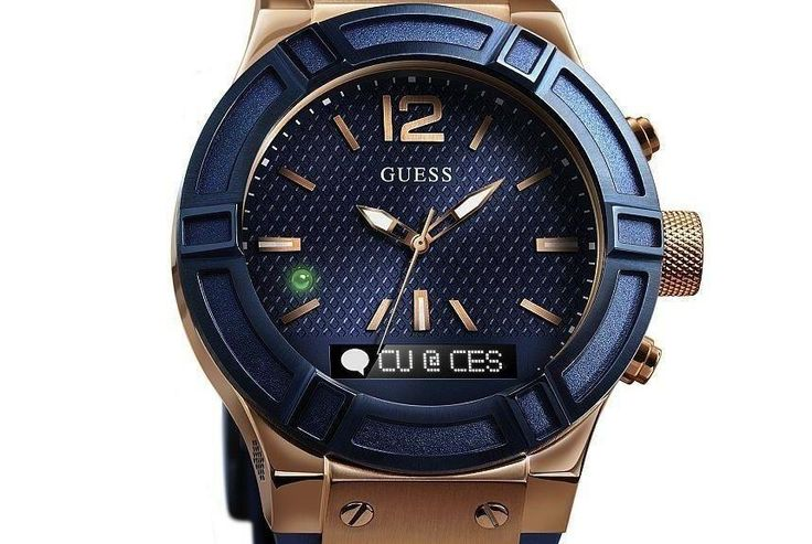 January 6, 2015, 9:00 pm Guess Connect Smartwatch Styled By Guess And Powered By Martian Technology http://feedproxy.google.com/~r/Ablogtowatch/~3/agSrW3YHXao/ More than just something you wrap around your wrist to help keep you punctual, a watch can help punctuate your personal style. See more at: http://watchreplenish.com/