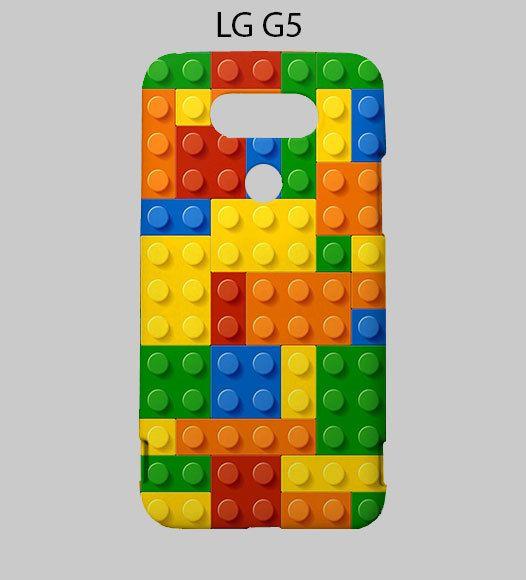 Lego Colourful Bricks LG G5 Case Cover